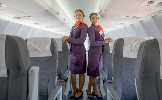 Фото салона самолета авиакомпании Азимут